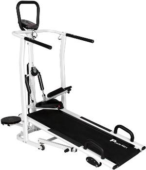 Powermax Fitness MFT-410 Steel Manual Treadmill