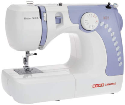 Usha Janome Dream Stitch Automatic Zig-Zag Electric Sewing Machine