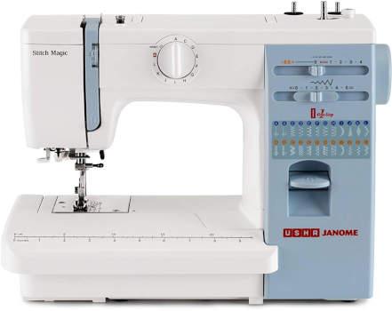 Usha Janome Automatic Stitch Magic Sewing Machine
