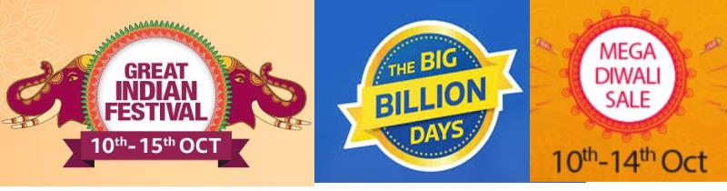 Indian e-commerce Big Sales 2018